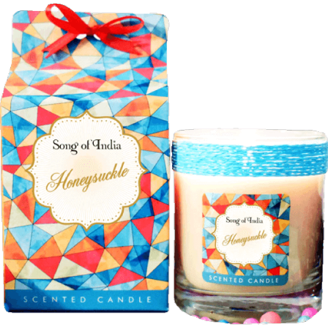 Honeysuckle Soy Wax Candle in Glass